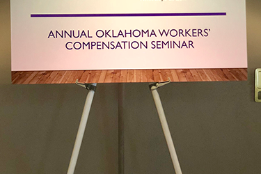 June 2019 – Workers' Comp Seminar in OKC